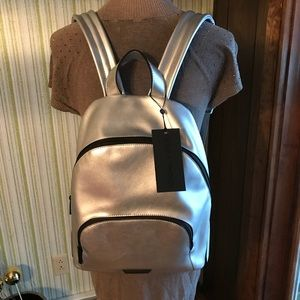 Kendall & Kylie NWT silver backpack 🎒Authentic